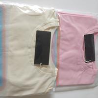 2020 Nouvelle lettre de la poitrine de luxe pour femmes t-shirt à manches courtes lumineuses T-shirt de mode