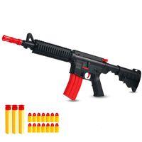 Kinderspielzeugpistole kann M416 SOFT GUNNERS MOBILE 95 Jungen erschießen, essen Hühnchenkugel, Angriff und Greifgeschenke