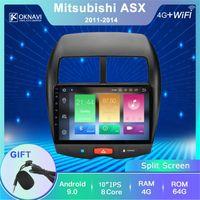 """Автомобильный DVD-плеер Oknavi для Mitsubishi ASX 2010-2021 C4 4008 Radio GPS навигация мультимедиа 10 """"кадр SPSOR Camera"""