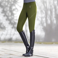 Pantaloni da equitazione Pantaloni leggings per le donne fitness slim pantaloni matita pantaloni equestri cavallo cavaliere skinny pantaloni da donna Plus size 201109