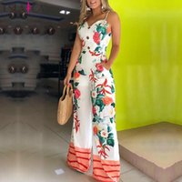 LSLAICA Jumpsuits Femmes Pantalon Élingu Pantalon Trend de mode Trend élégant Lâche Jumpsuit confortable automne T200509