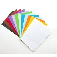 10 stücke süßigkeiten farbe kraft papier umschlag 14 ausgewählte leere große umschläge grußkarten hochzeitseinladung geschenk jllgjm