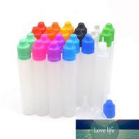 5pcs 30мл ПВДА Пустой ручки Форма Пластиковых сжимаемой пипетка Е Жидкий сок возвратные бутылки с 5 бутылками 1 воронки