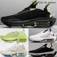 Hommes 38 Baskets Casual Cason Cashion Cashion Femme 12 Taille US Chaussures Mens Zoomz 46 EUR Dames Sports Zoom Traqueurs Double empilé avec boîte