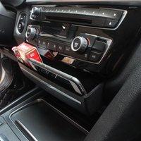 Boîte de rangement de la boucle de remplacement de la console de CD de CD de style de voiture pour 3/4 Series 3GT F30 F32 F34 INTÉRIEUR AUTO Accessoires1