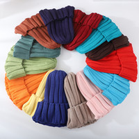 Children' s hats Candy shade board pullover woolen hat, ...