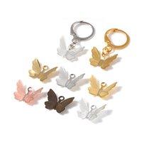 100pcs Cuivre Butterfly Filigree Wraps Connecteurs Charms Pendentif pour DIY Bijoux Faire des accessoires Constatations