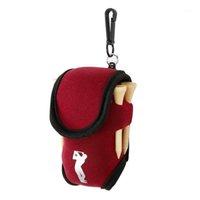 4 bola de golfe pequena mini cintura pacote 2 saco + titular tee para esportes em neoprene esferas de treinamento ao ar livre Tees Pouch1 Artoh