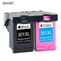 Cartucce d'inchiostro DMYON Cartridge Compatibile per 301 Deskjet 1000 1050 1050A 2050A 3050 3054 3060 3510 3511 3512 4500 4500 450 4502 Stampante