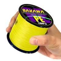 Bakawa Boot Malking Line 300M 500M 1000M 8 Strands Super Strand Multifalament Fishing Wire CARP Fable 20LB-86LB 201114