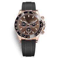 2021 세라믹 베젤 로즈 골드 기계식 운동 자동 시계 패션 시계 남성 디자이너 손목 시계 OROGOLOGIO DA UOMO Relojes Montre Homme Mujer