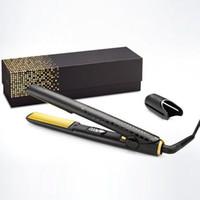 V Gold Max Saç Düzleştirici Klasik Profesyonel Styler Hızlı Saç Düzleştiriciler Demir Saç Şekillendirici Aracı DHL tarafından En İyi Kalite