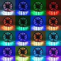 Plastic 150-LED 12V-5050 RGB IR44 Light Strip Set com IR Remote Controller (Placa Lamp Branco) Discount entrega gratuita