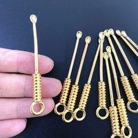 غسل معدن آذان اللولبية اختيار الذهب مطلي الأذن النازع عدم الانزلاق البساطة الدائري مشبك المحمولة سهلة نظيفة الأزياء 0 33QK P2