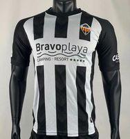 2020 2021 CD Castellon Soccer Jerseys 12 Zlatanovic 6 m.castells cubillas مخصص 20 21 castellón الرئيسية الكبار القمصان كرة القدم الزي الرسمي