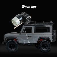 Четырехкомнатный привод для альпинистского автомобиля 4WD аккумуляторный аккумуляторный гусарь 1/12 Светодиодные фонари автомобиль Off Road RC
