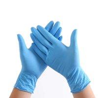 Lattice 100pcs / lot Monouso Lavoro universale Monouso Protezione Food Safety Salute Salute Guanti per la pulizia della casa con scatola FQBR