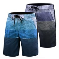Quick- drying Mens Beachwear Plus Size Swimsuit Men Printing ...