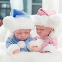 Компуда 11 дюймов мягкие Reborn Baby Dolls LifeLike Speating Real Baby Dolls Newborn Toy C0119