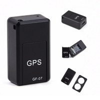 GF07 المغناطيسي ميني سيارة تعقب GPS في الوقت الحقيقي تتبع محدد موقع المغناطيسي gps المقتفي في الوقت الحقيقي محدد المركبات