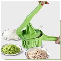 야채 탈수기 건조기 손을 누르면 물 제거제 Masher Ricer Squeping Dumpling Pie 필링 도구 주방 액세서리 도구 22 P2