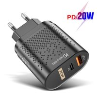 Fast Charging PD 20W Quick Charge 4. 0 Type C USB Charger Mob...