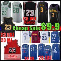 23 hombres Baby Baloncesto Jersey Luka 77 d'Angelo Gordon Russell Doncic Kawhi Hayward Anthony 3 Davis Leonard Lonzo Draymond Garland Green Ball