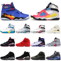 Nike Air Jordan 8 Retro 8 8s Stock x 2020 Jumpman 8 Doernbecher Valentinstag Herren-Basketball-Schuhe SatinJordanienRetro Multicolor Designer Turnschuhe Turnschuhe