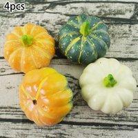 Осень урожая декор реквизит искусственные мини тыквенные тыквы желующие ягоды искусственные тыквы DIY ремесло моделирование Halloweee1