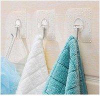 Двухсторонние клейкие настенные крюки прозрачные крючки на стене самоклеящийся крючок для кухни ванная комната всасывающая чашка SUC BBYRWG
