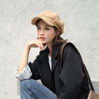 Cappelli da donna con cappello da donna con cappelli da esterno Ampia Fedora Fedora Cappellino da pesca in cotone per la protezione solare Berretti militari Berretti Busina Chapuaux Sole prevenire i cappelli