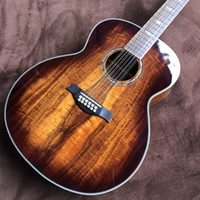 41 «Todos ОС КоА Мадейре 12 Cordas да Guitarra Acústica, розового дерева грифа, k24ce Modelo Guitarra Acústica Eletrica, frete GRATIS