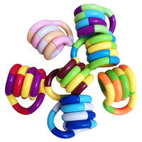 Tangles Zappeln Spielzeug Relax Therapy Stress Relief Gefühl Wicklung Spielzeug Dekompression Pädagogisches Gehirn Stellen Sie sich Werkzeuge zum Fokussieren