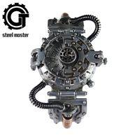 Steampunk Regarder Chronographe Relojes Hombre Quartz Montres Automatiques Montres Cuarzo Original Reloj de Pulsera de Movimientos Lj201212