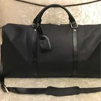Exercer todas as bandoulière 55 centímetros Designer Womens Mens viagem Duffle Duffel Saco de Luxo rolamento Softsided bagagem Set Suitcase M41414
