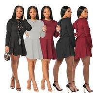 Бесплатная доставка плюс размер платья партии женщин сексуальное кружево одежда спереди и спинок Plus Размер 2021 2020 осень зима платья
