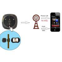 Дверные звонки Беспроводной Wi-Fi Door Bell для IHOME3 Видео Вызов Камера Аварийный сигнал Гифол Цифровой Двери Угол PIR PIR Широкая Угол
