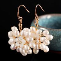 Charm Legierung Pearl Ohrring Weibliche Ornamente Geschenk Ohrringe