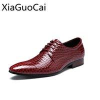 Avrupa ve Amerikan Yılan Erkek Elbise Ayakkabı Dantel Düşük İş Resmi Ayakkabı Erkek Düz Düğün