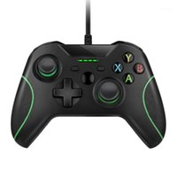 تحكم اللعبة المقود USB وحدة تحكم سلكية كونترول ل Microsoft Xbox One Gamepad Slim PC Windows Mando Joystick1