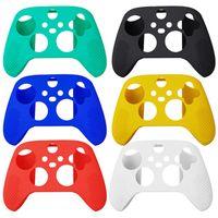 2020 HOT Anti Slip Soft Silicone Case Protetora Shell Capa de Capa Para Xbox Series X S CONTROLLER GAMEPAD Jogo Acessórios