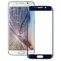 Galaxy S6 Kenar G925 için Orijinal Ön Ekran Dış Cam Lens