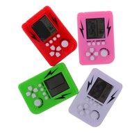 Classica nostalgia retrò gioco tetris game console infanzia tetris palmare gioco giocatori lcd giochi elettronici giocattoli giocattoli educativi giocattoli educativi c2500