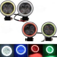 Arbeitslicht 12W LED-Arbeiten-Engel-Augen 4D-Fleck-Strahl Offroad-Fahren-Nebelscheinwerfer-LKW ATV 960LM Automobil Universal1