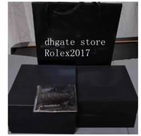 Alta calidad RM 50 056 035 Caja de reloj original Papeles de cuero cajas de madera para Blake cronógrafo Relojes