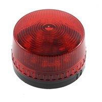 AC 220V 산업용 LED 플래시 스트로브 라이트 사고 경고 램프 레드 LTE-5061 DE1