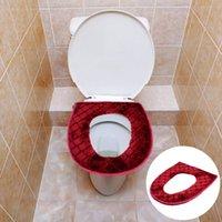 Wandaufkleber Universal Toilettensitzbezug warme weiche Reißverschlusskissen