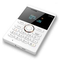 Walkie talkie e1 mini téléphone portable version étudiante ultra mince carte mobile FM radio1