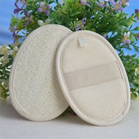 11 * 16 cm Natural Loofah Pad Loofá Remova a Pele Dead Loofah Pad Sponge para casa ou Hotal 405 J2