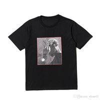2019 Nuevos amigos Skateboard T Shirt Hombres Mujeres Black Hip Hop Manga corta Subterráneo Estilista T Shirt Tshirt